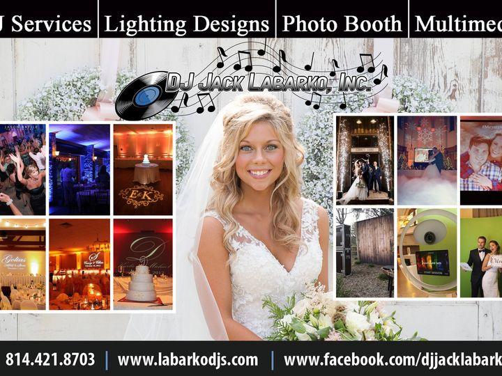 Tmx Dj Jack Labarko 2019 Business Card Master 51 572864 1555374836 Johnstown, PA wedding dj