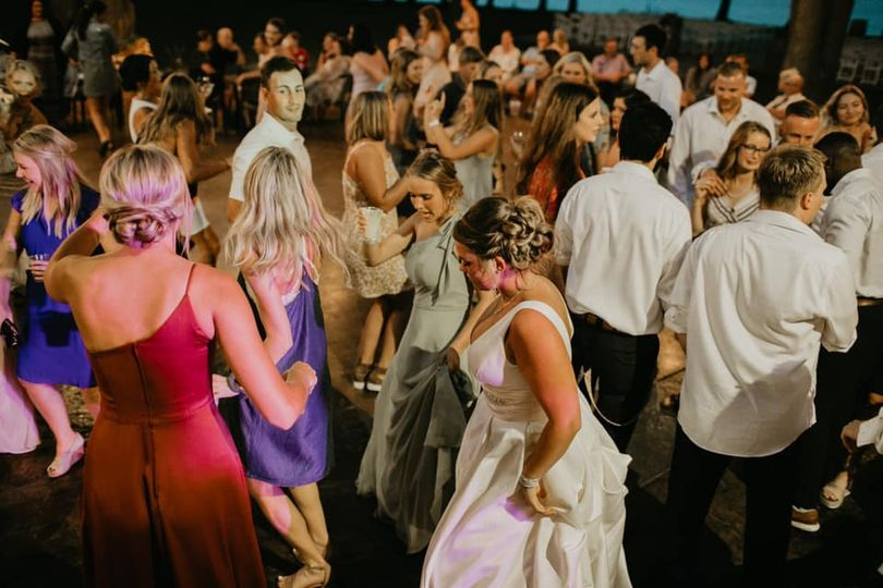 Everyone up and dancing