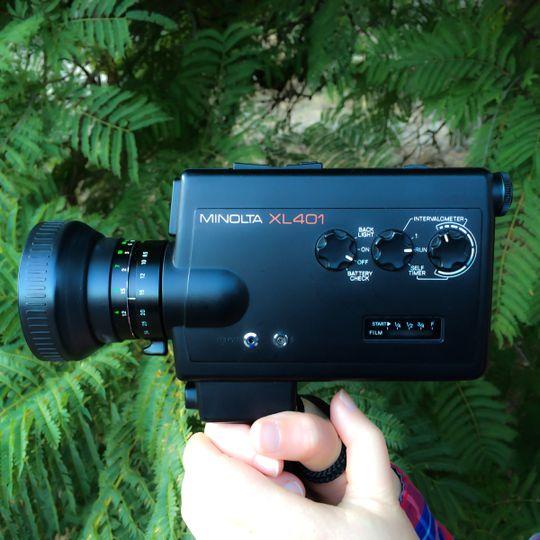 Super 8 films equipment
