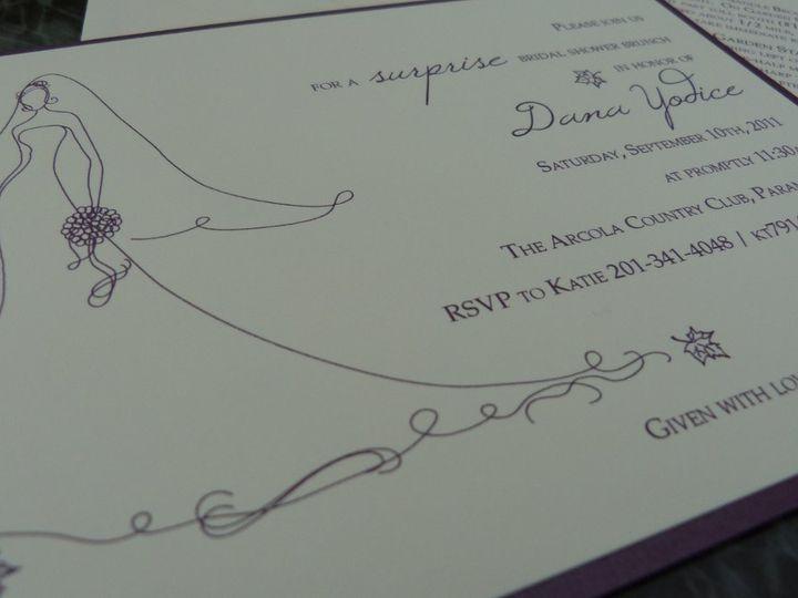 Tmx 1346186523181 P1230770 Wayne wedding invitation