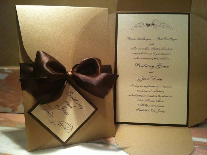 Tmx 1346186668346 IMG1271 Wayne wedding invitation