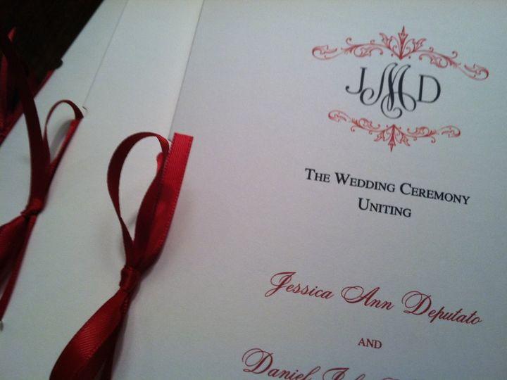 Tmx 1346186681119 IMG1357 Wayne wedding invitation