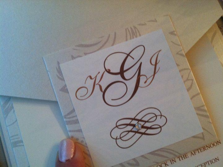 Tmx 1346186758861 IMG3194 Wayne wedding invitation