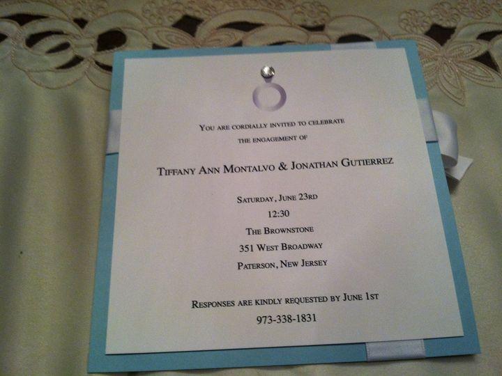 Tmx 1346186826742 IMG3149 Wayne wedding invitation