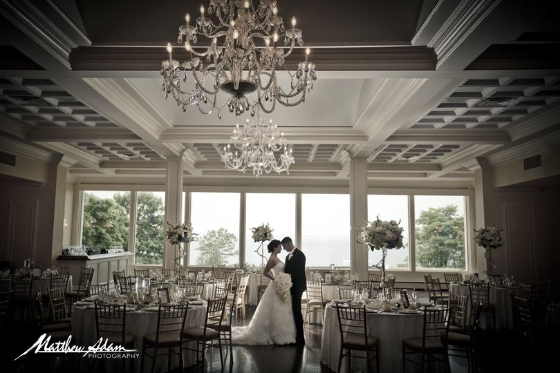 Couple at the banquet hall