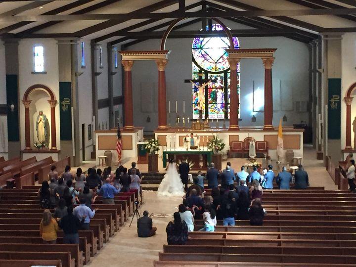 Immaculate Conception Church wedding in Cottonwood AZ Nov 2017