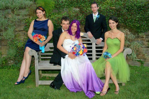 Colorful Wedding Party