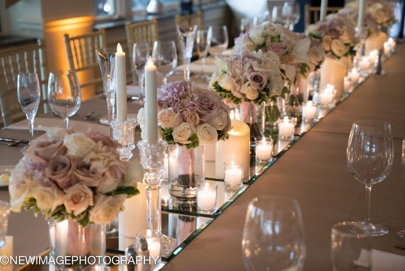 Long table setup- Head Table