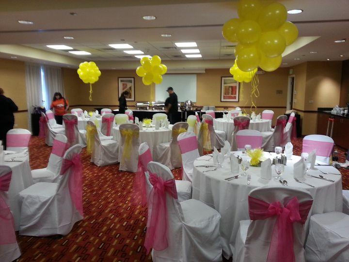 Tmx 1425589662740 Pink And Yellow Littleton wedding rental