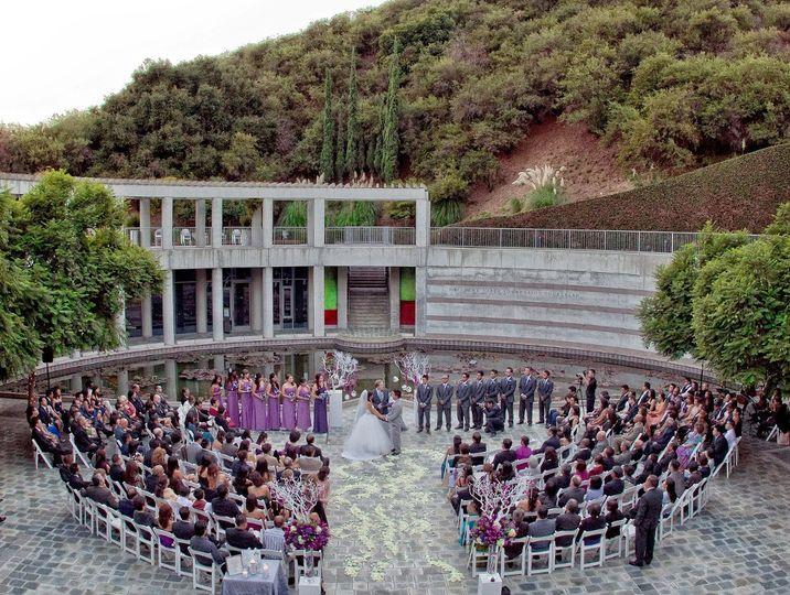 Skirball wedding