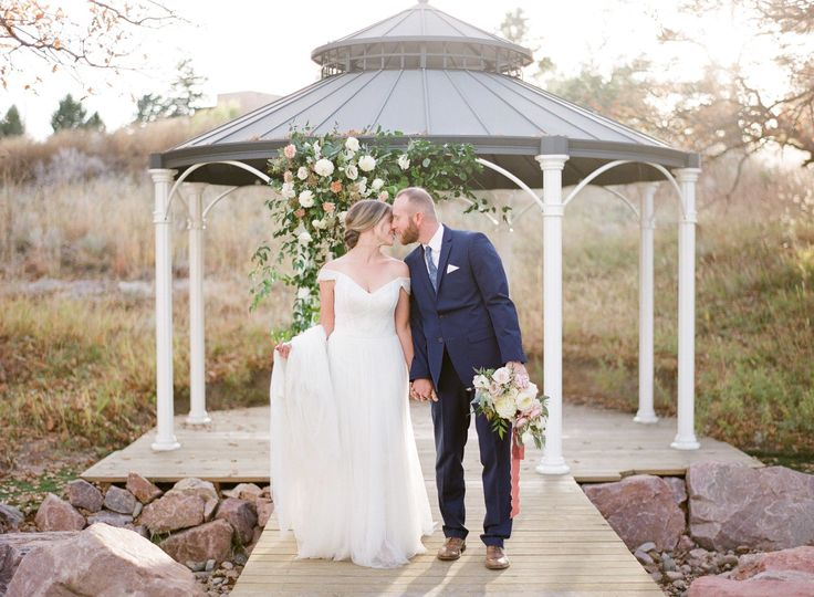 The Garden-Inspired Gazebo is a breathtaking backdrop for your ceremony, especially with a beautiful...