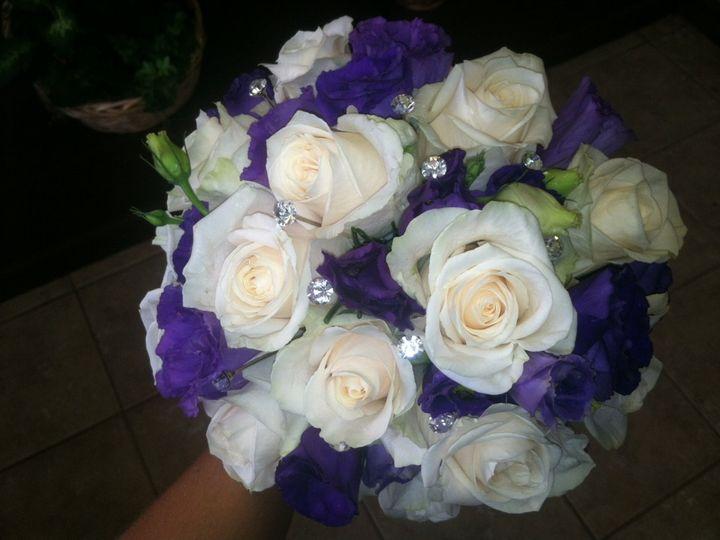 Tmx 1342804979540 Whiterosebouq Bayonne wedding florist