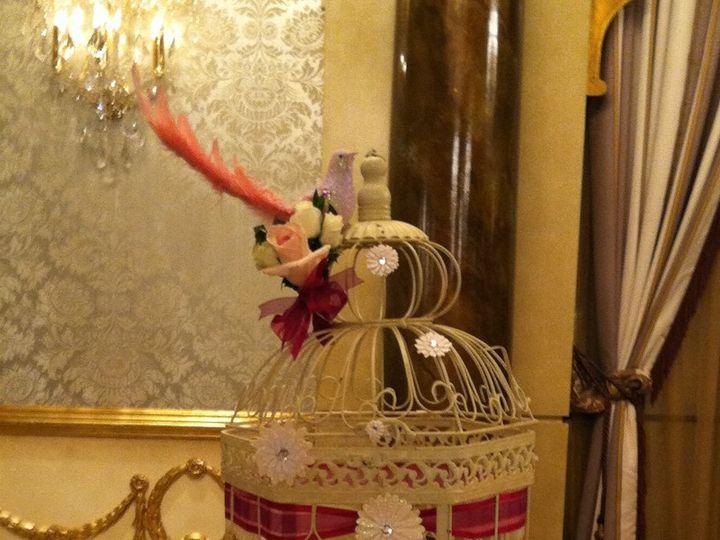 Tmx 1357665856580 Birdcagecard Bayonne wedding florist