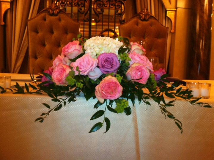 Tmx 1357665958765 Sweethearttable Bayonne wedding florist