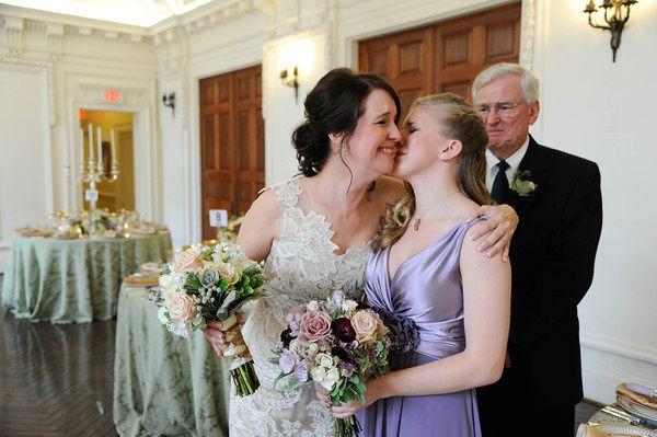 bride and bridesmaid sample wedding 2