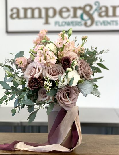 Mauve & Blush Bouquet