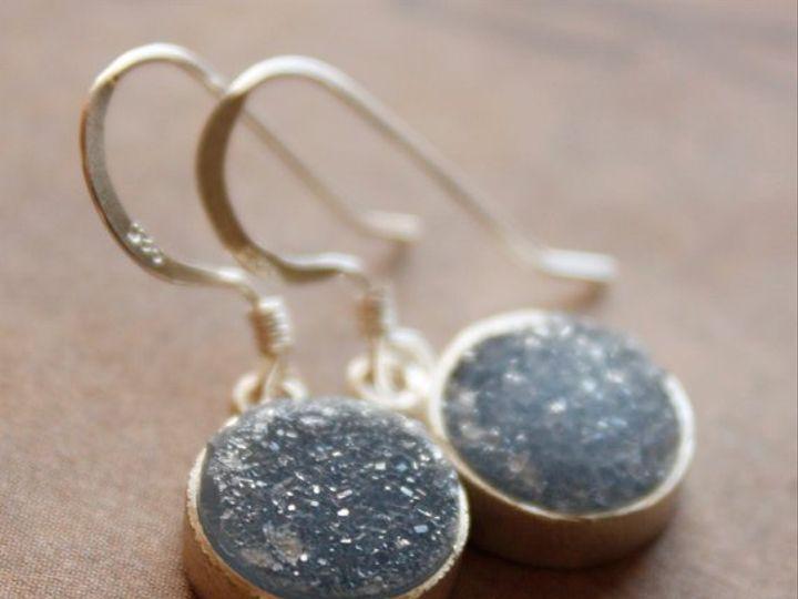 Tmx 1339638231054 CharcoalDruzyEar Seattle wedding jewelry