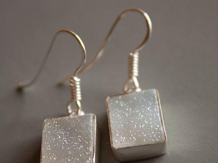 Tmx 1339638258368 GreyDruzyEarSqre Seattle wedding jewelry