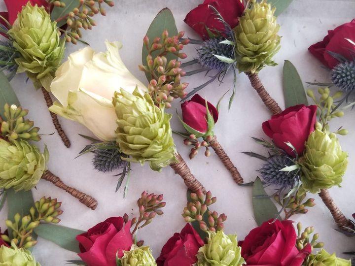 Tmx Boutonniere With Hops 51 906964 157746313335506 Acton, MA wedding florist