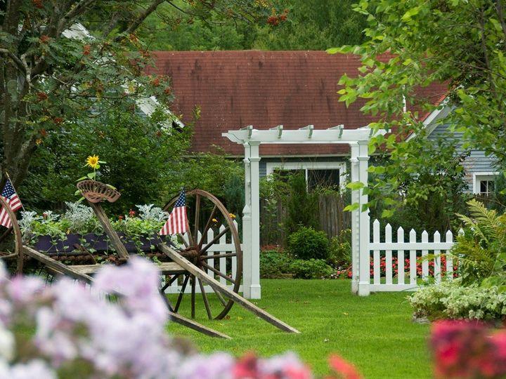 Tmx 1343828152666 Garden1 Montgomery Center, VT wedding venue