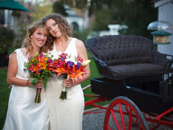 Tmx 1388852783758 Wedding Two Brides With Carriag Montgomery Center, VT wedding venue