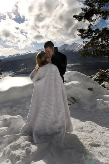 Sapphire Point December Wedding - Summit County, Colorado
