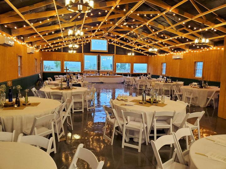 Event center interior