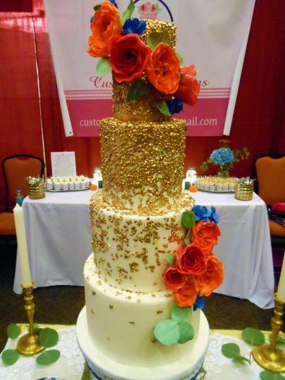Custom Confections - Wedding Cake - Jacksonville, FL - WeddingWire
