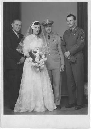 Jessica's Oma Wedding, 1955