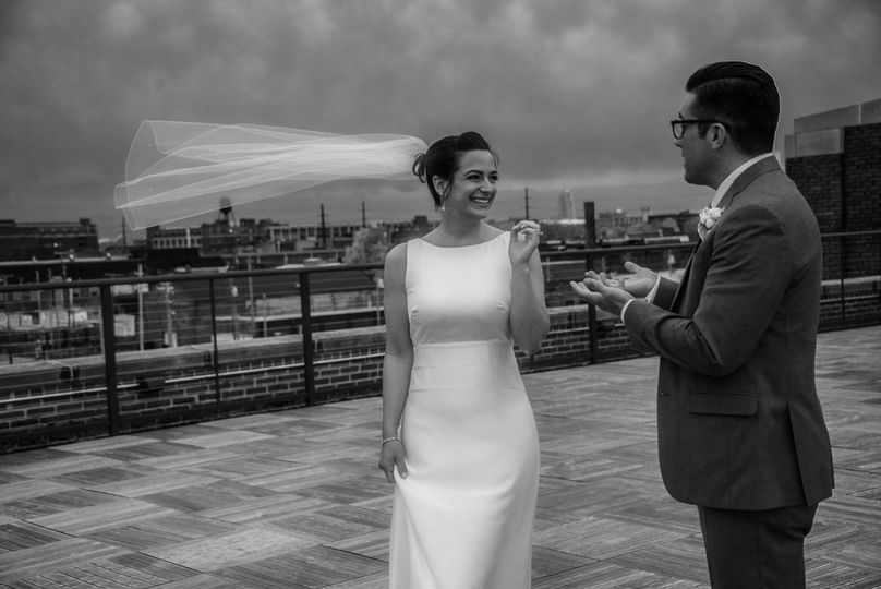 Cleveland Rooftop Wedding