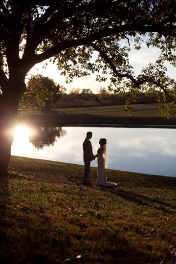 Couple in a scenic view