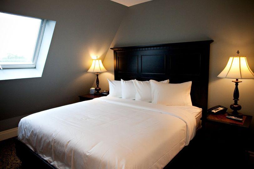 Plush bed linens