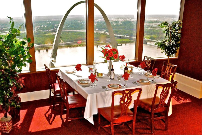 Dining room from the 40th floor