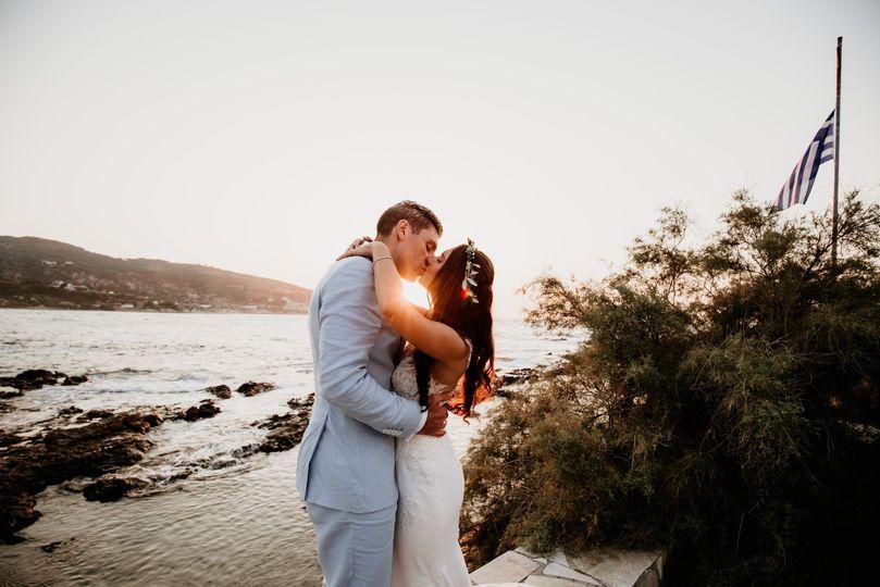 Wedding in Ikaria Island