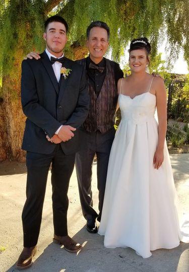 Wedding at Cordiano Winery