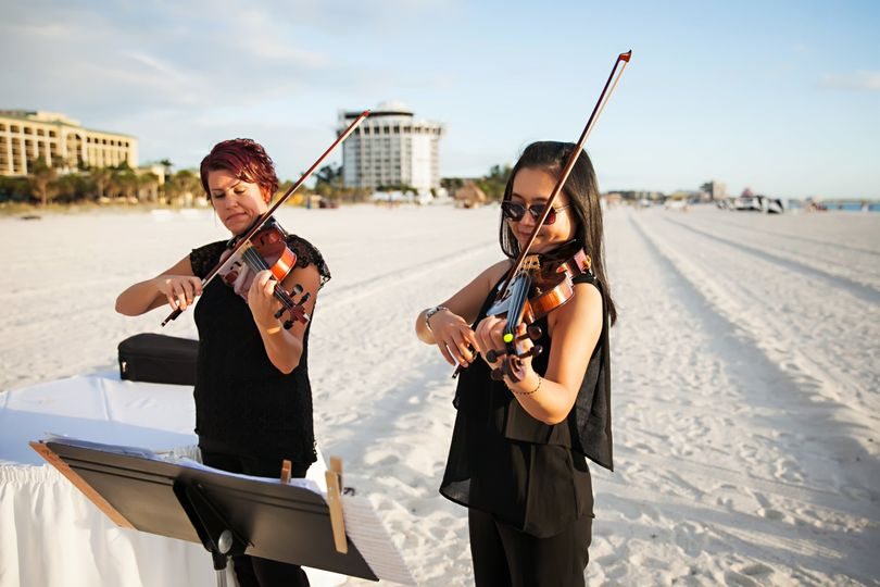 Violin duo - St. Pete Beach