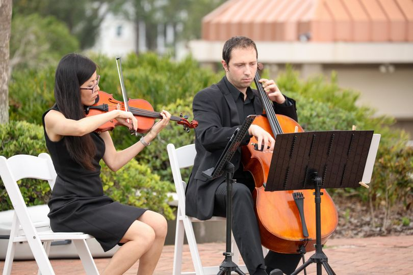 String duo performance