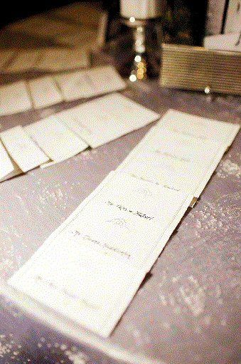 Place Cards, Table names, Signs, anything that needs that special touch.