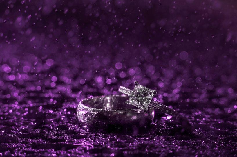 Rings in the purple rain