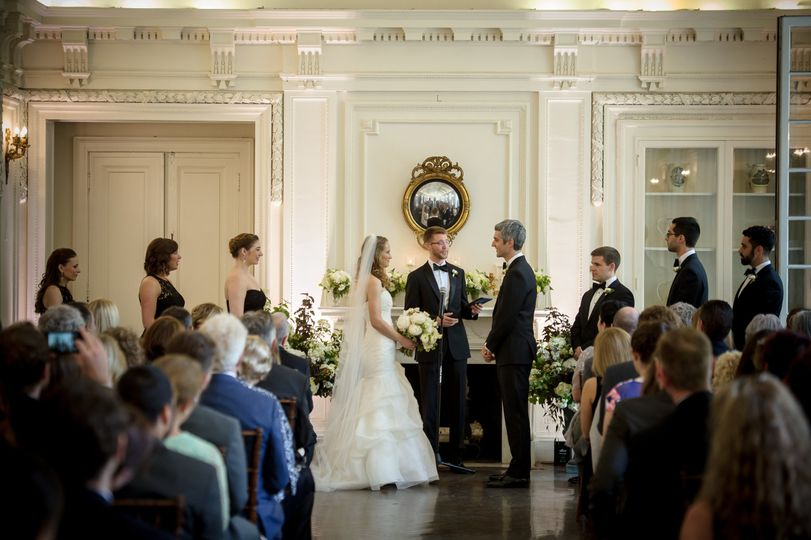 DAR, Washington DC - rain plan indoor wedding ceremony