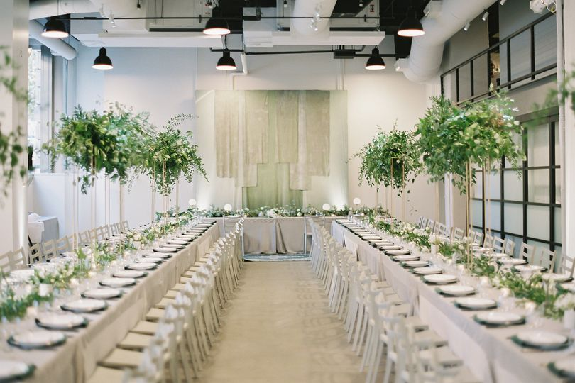 The Showroom, Washington DC - wedding reception