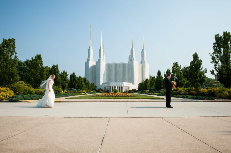 A first look at the Mormon Temple in Kensington, MD