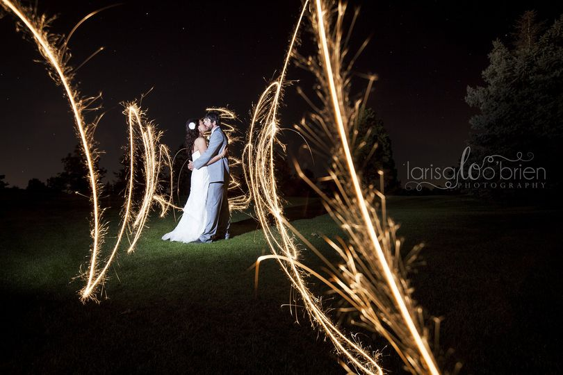 Messy sparklers