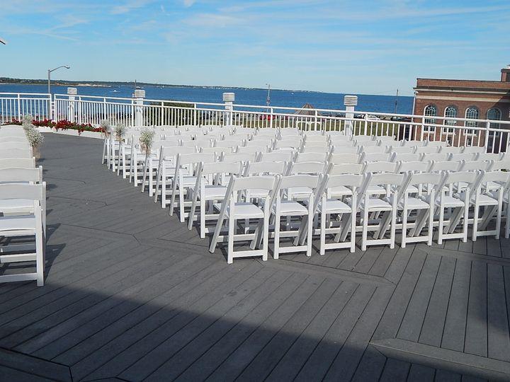 Tmx 1451785755882 Deck Ceremony 1 Narragansett, Rhode Island wedding venue