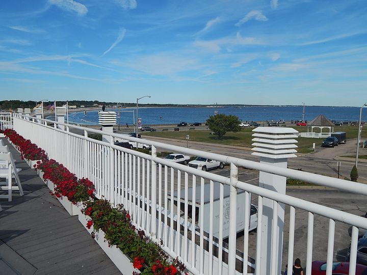 Tmx 1451785776213 Ocean View Deck 2 Narragansett, Rhode Island wedding venue