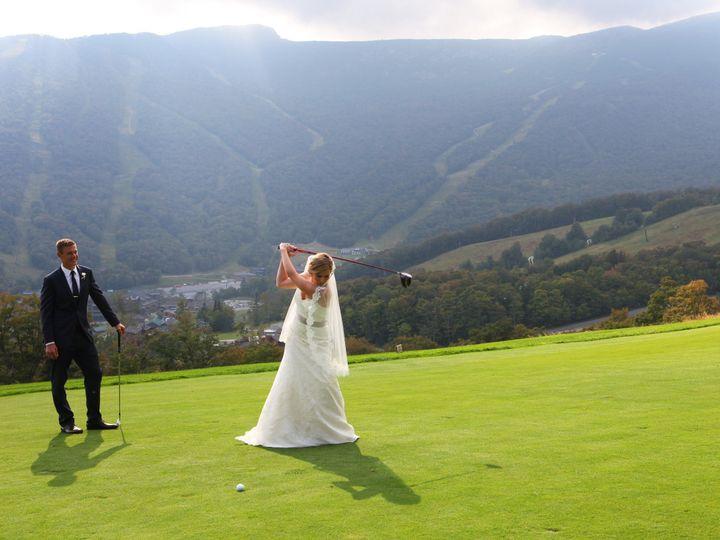 Tmx 1419009533150 Couple Golf Swing Stowe wedding venue