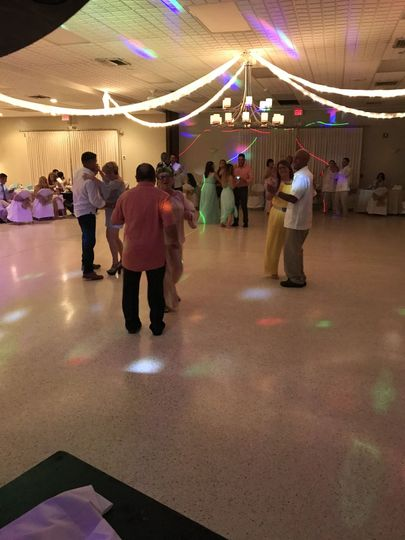 Dance floor!