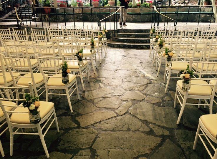 Scott's Indoor ceremony