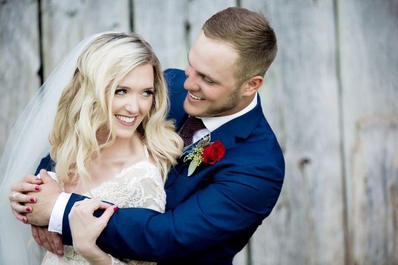 Cincinnati bride and groom