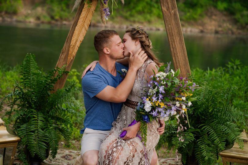 first kiss riverfront elopement 51 976174 1560221519